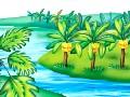 幼儿故事-猴子和鳄鱼